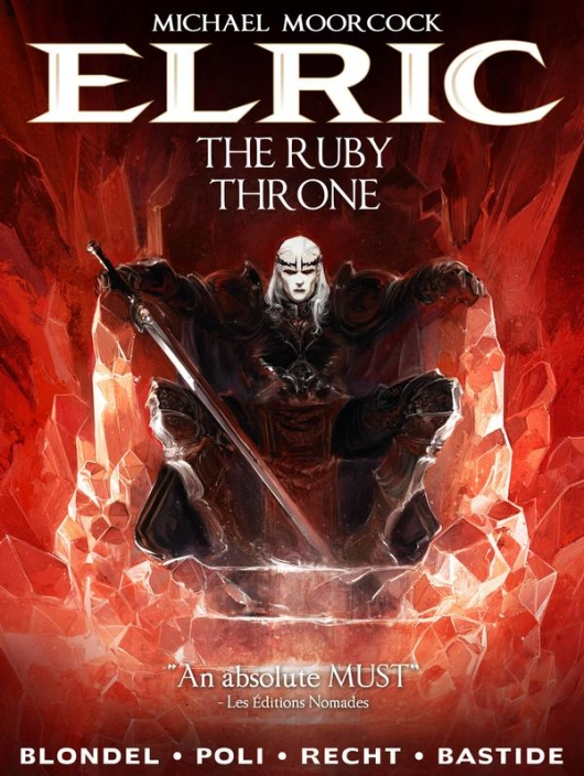 Elric Vol. 1: The Ruby Throne Cover
