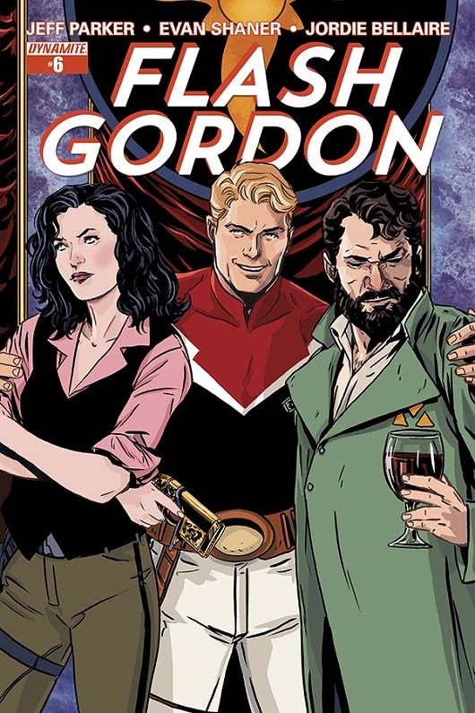 Flash Gordon 6 Cover by Marc Laming