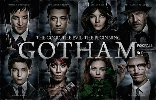Gotham Faces Logo Banner
