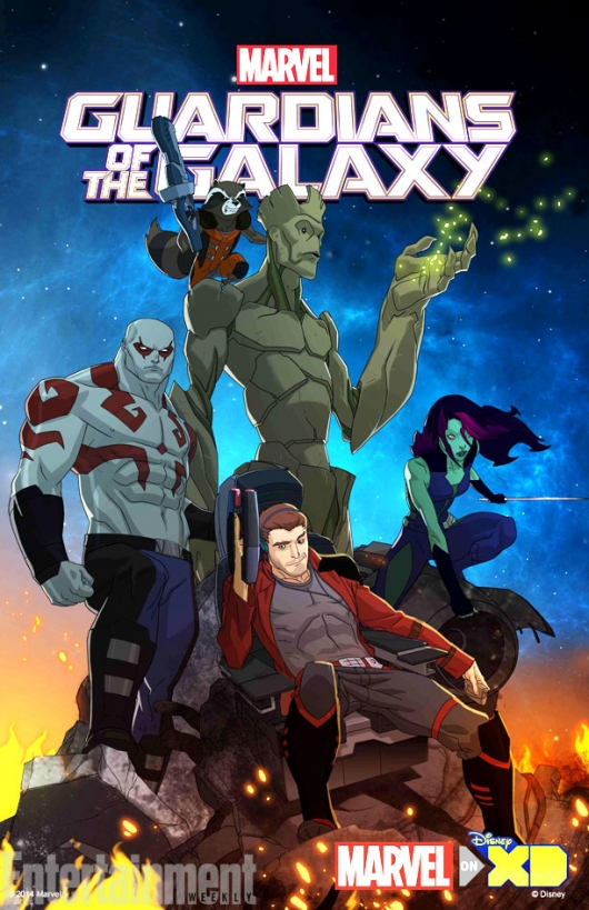 Guardians of the Galaxy animated tv series poster