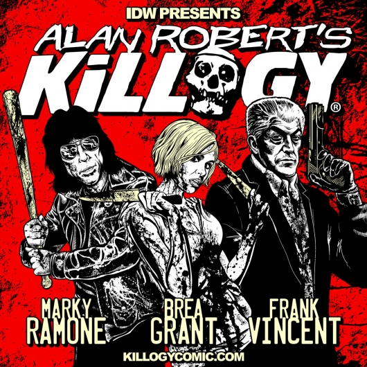Alan Robert's Killogy comic book series