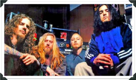 Machine Head Old Band Photo