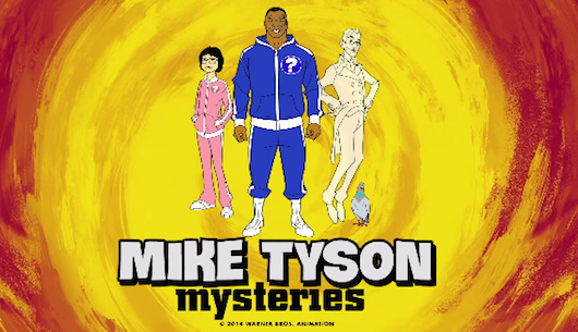 Mike Tyson Mysteries Banner