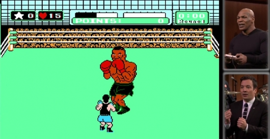 Mike Tyson Fights Mike Tyson
