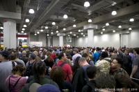 The Queue Hall at NYCC 2014