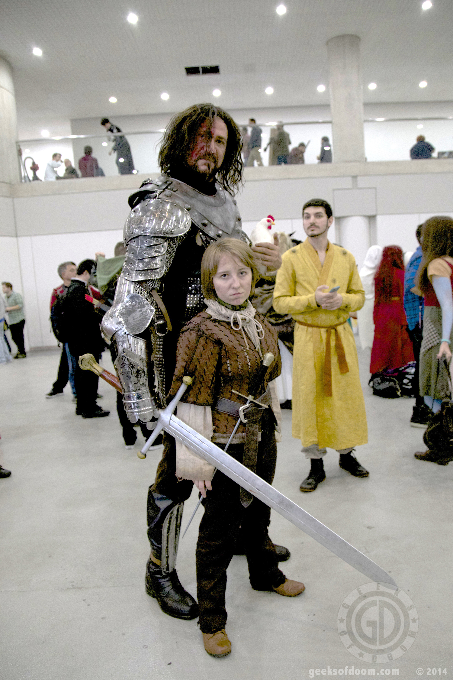 the hound arya stark and oberyn martell cosplay new