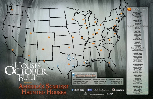 Houses October Built America's Scariest Haunts