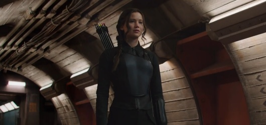 The Hunger Games: Mockingjay Part I starring Jennifer Lawrence