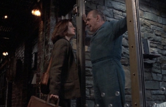 Jodie Foster and Anthony Hopkins in The Silence of the Lambs Best Picture