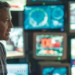 George Clooney and Britt Robertson in Tomorrowland