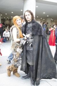 Ygritte and Jon Snow cosplay