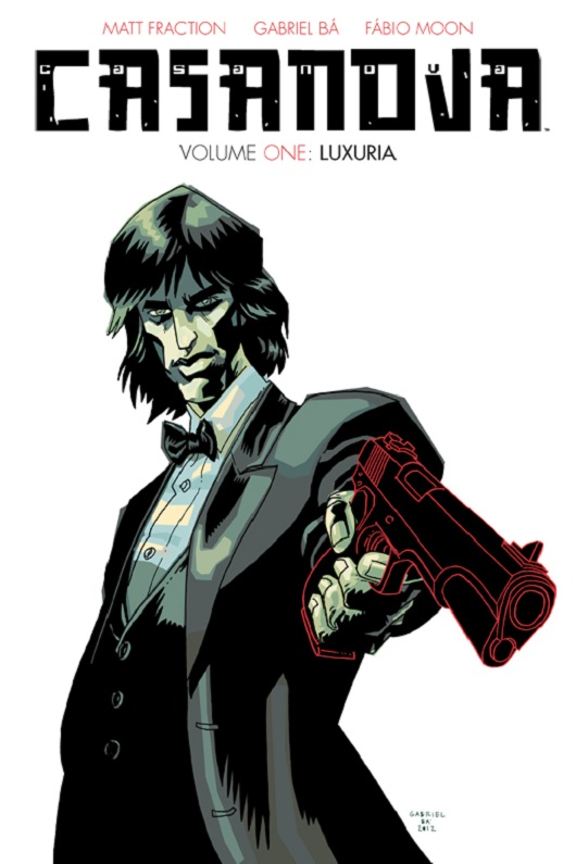 Casanova Volume 1: Luxuria cover by Gabriel Ba