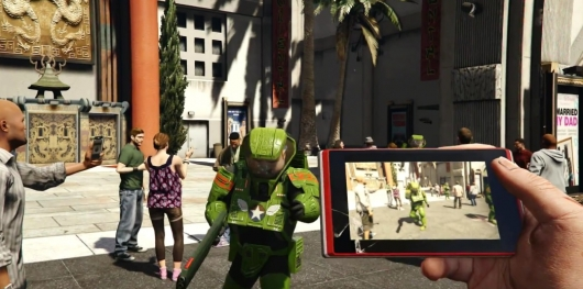 Grand Theft Auto V First-Person