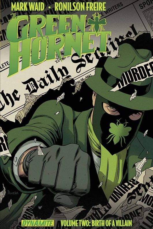 Green Hornet, Vol. 2 cover