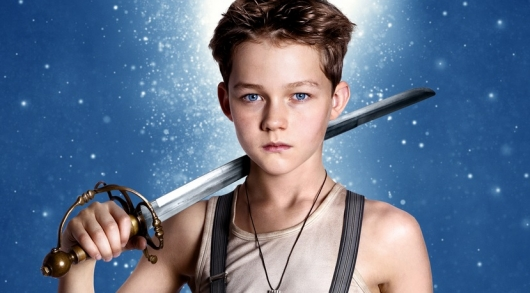 Levi Miller as Peter Pan in Pan