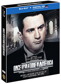 Once Upon a Time in America  Extended Director's cut blu-ray