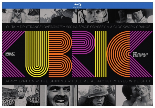 Stanley Kubrick The Masterpiece Collection Blu-ray