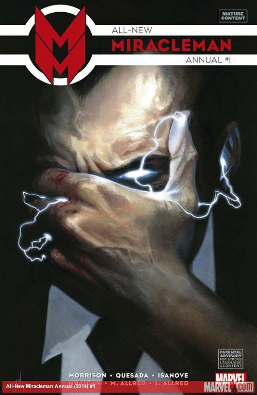 All-New Miracleman Annual #1 by Gabriele Dell'Otto