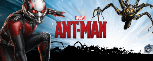 Marvel Ant-Man Promo Art Ant-Man and Yellowjacket