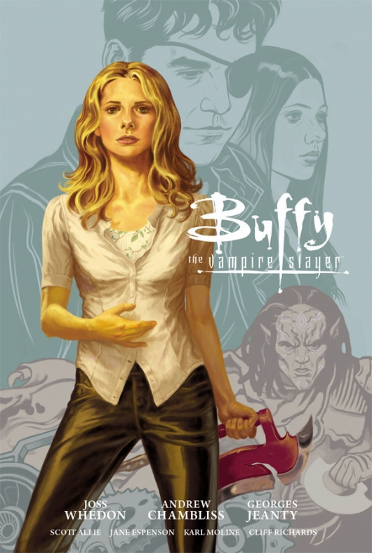 Buffy The Vampire Slayer Season 9, Vol. 1 cover
