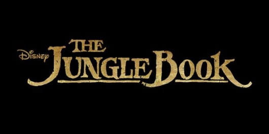 Disney The Jungle Book live-action film title card