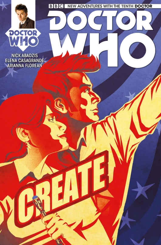 Doctor Who: The Tenth Doctor #5 cover