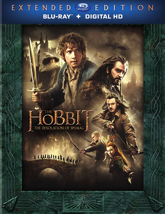 The Hobbit: The Desolation of Smaug Extended Edition Blu-ray