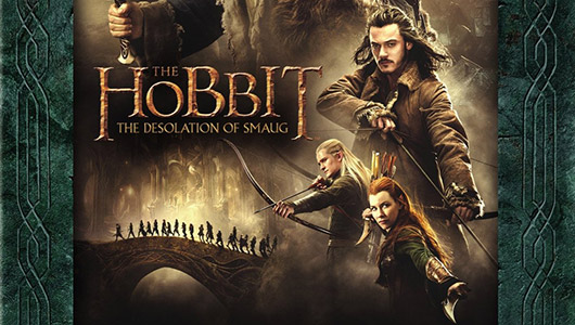 The Hobbit: The Desolation of Smaug Blu-ray banner