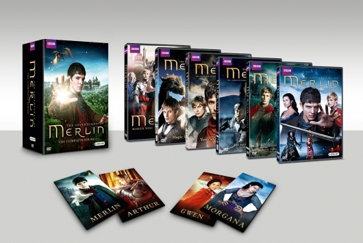 Merlin The Complete Series DVD box set