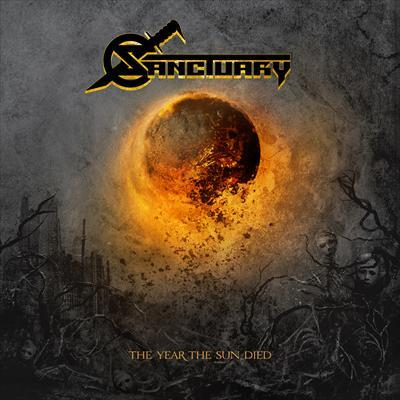 Sanctuary The Year The Sun Died album cover