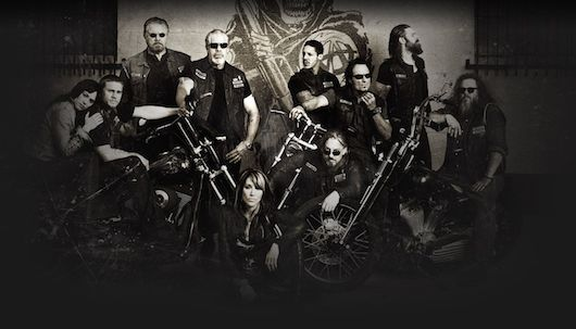 Sons of Anarchy Cast Poster