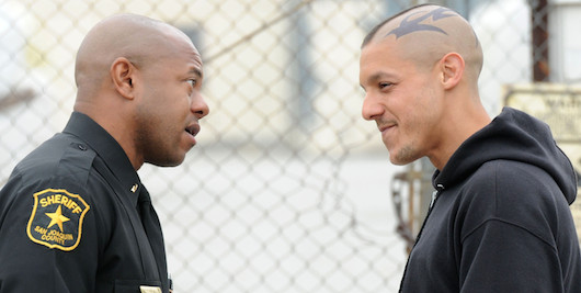 Sons of Anarchy Eli Roosevelt and Juice