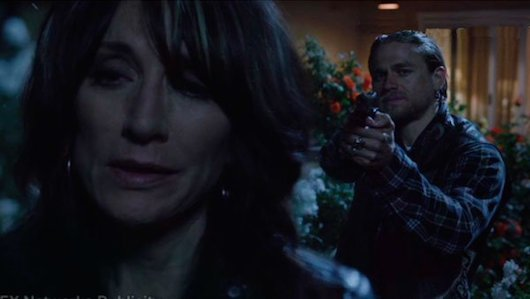 Sons of Anarchy Gemma- Jax Final Moments
