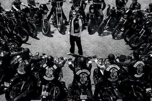 Sons of Anarchy Jax Motorcycle Circle