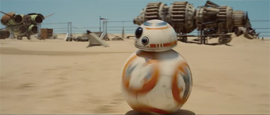 Star Wars: The Force Awakens BB-8 ball droid