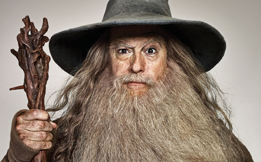 Stephen Colbert as Gandalf