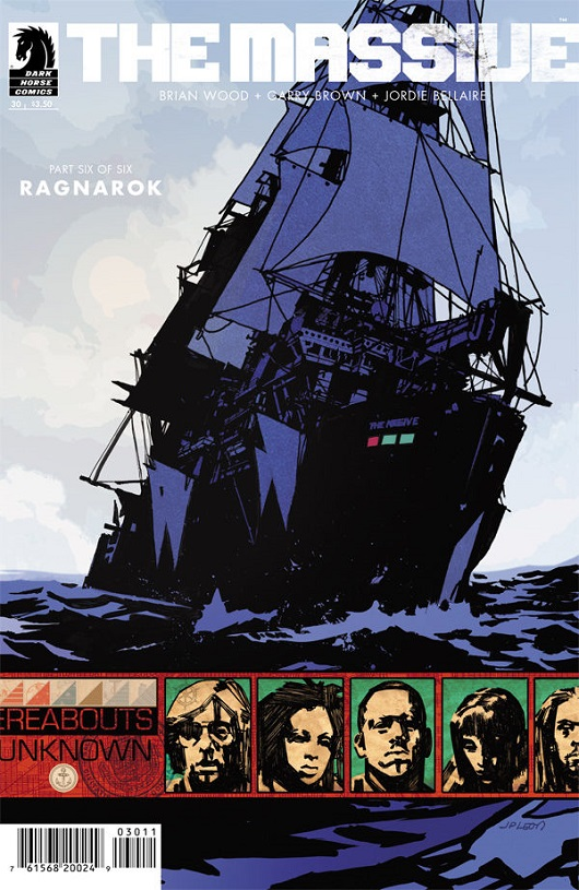 The Massive #30 cover by JP Leon