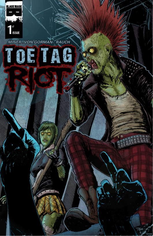Toe Tag Riot #1 cover