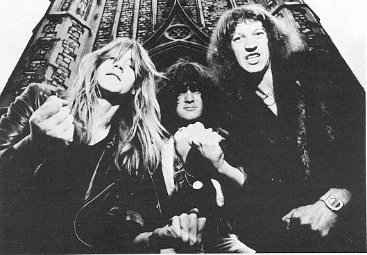 Angel Witch Band Photo