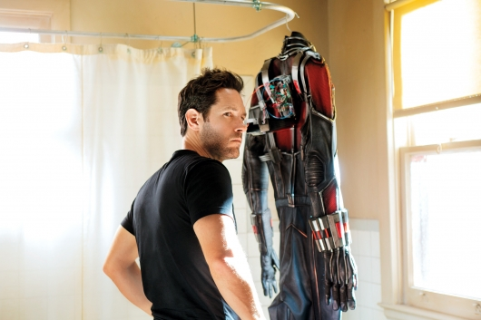 Paul Rudd as Scott Lang in Marvel Studio's Ant-Man