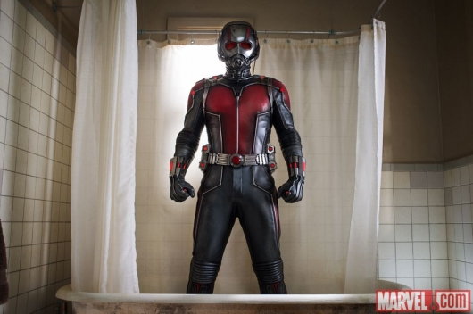 Ant-Man shower pic Paul Rudd as Scott Lang in Marvel Studio's Ant-Man