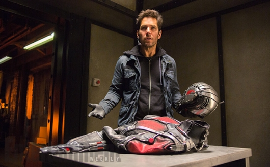 Paul Rudd as Scott Lang/Ant-Man in Marvel Studio's Ant-Man