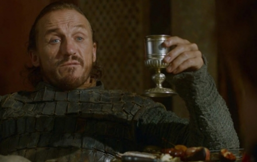 Jerome Flynn as Bronn on Game of Thrones