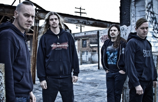Cattle Decapitation Band Photo