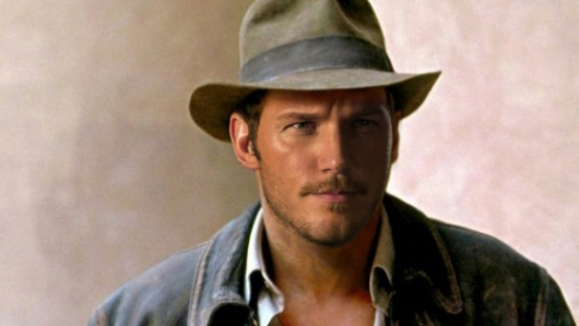 Photoshop of Chris Pratt as Indiana Jones (cropped)