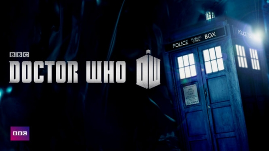 Doctor Who logo and TARDIS from the Netflix web site