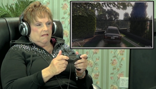 Elders React To Grand Theft Auto V