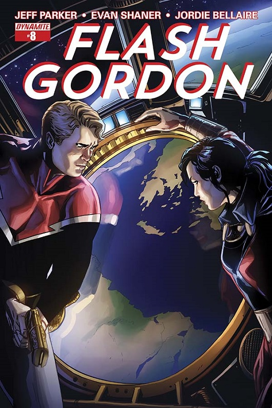 Flash Gordon #8 cover by Marc Laming