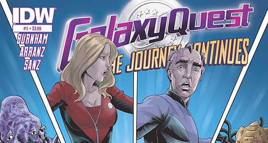 Galaxy Quest: The Journey Continues #1 banner