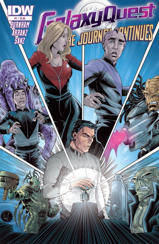 Galaxy Quest: The Journey Continues #1 cover a